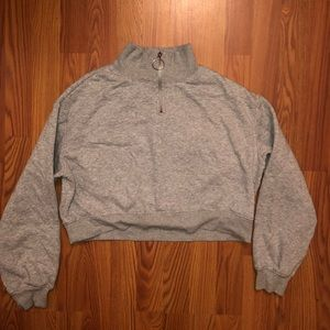 Forever 21 Gray copped hoodie